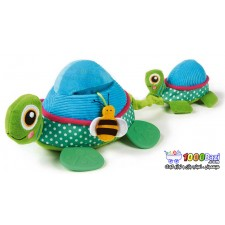 عروسک لاکپشت دوتایی پولیشی Oops
