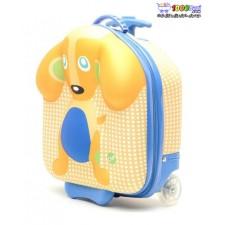 کیف چمدانی چرخدار طرح سگ oops