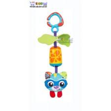 عروسک گیره دار گربه آبی پلی گرو Playgro