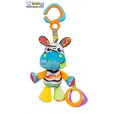 عروسک آویزدار جغجغه ای گورخر Playgro