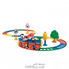 اسباب بازی ست قطار با علائم کامل Tolo