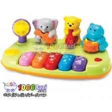 اسباب بازی پیانو حیوانات Winfun