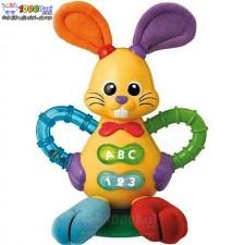 اسباب جغجغه موزیکال خرگوش Winfun