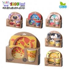 ست ظروف پیکنیک کودک Yookidoo Eco-friendly
