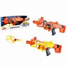 اسباب بازی اسلحه جنگی 2 کاره با تیر فومی نرم