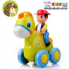 اسباب بازی اسب سوار هولی تویز huile toys