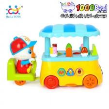اسباب بازی بستنی فروش هویلی تویز huile toys
