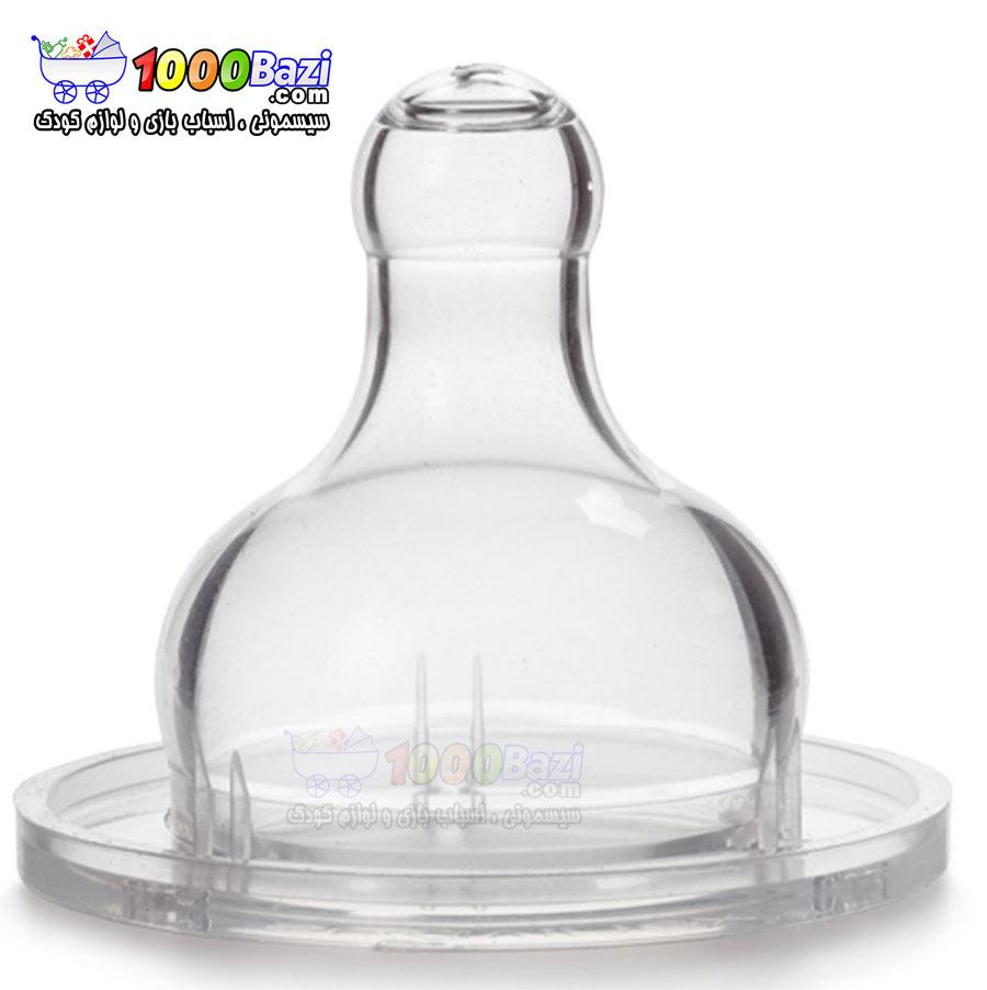 شیشه شیر کودک پسرانه آبی 360 میل آبی Suavinex