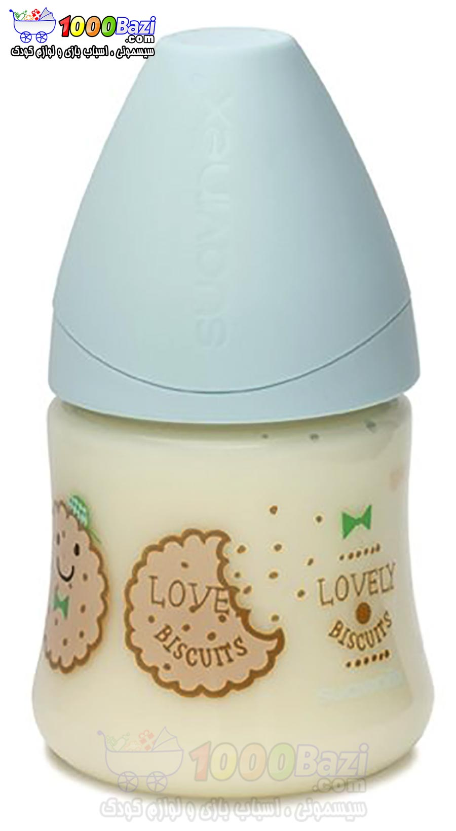 شیشه شیر 150 میل کودک پسرانه Suavinex