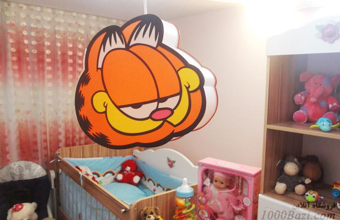 اتاق بچه لوستر اتاق کودک نوزاد بچه پسرانه گارفیلد