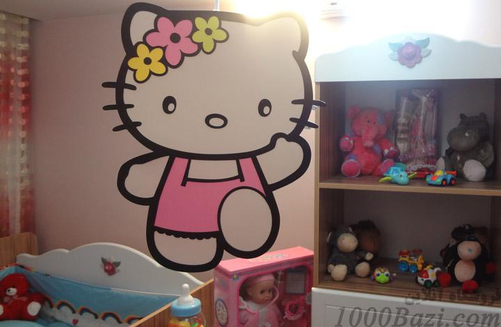 لوستر اتاق کودک نوزاد بچه هلو کیتی hello kitty