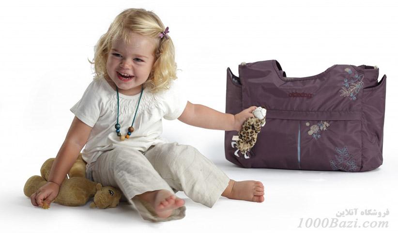 ساک لوازم نوزاد اوکی داگ Okiedog کیف وسایل لوازم بچه  سیسمونی