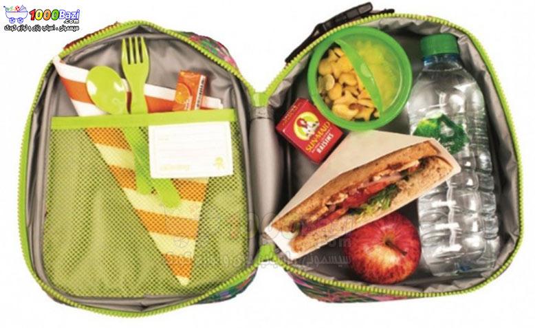 کیف غذای بچه گانه کودک طرح ببر Okiedog