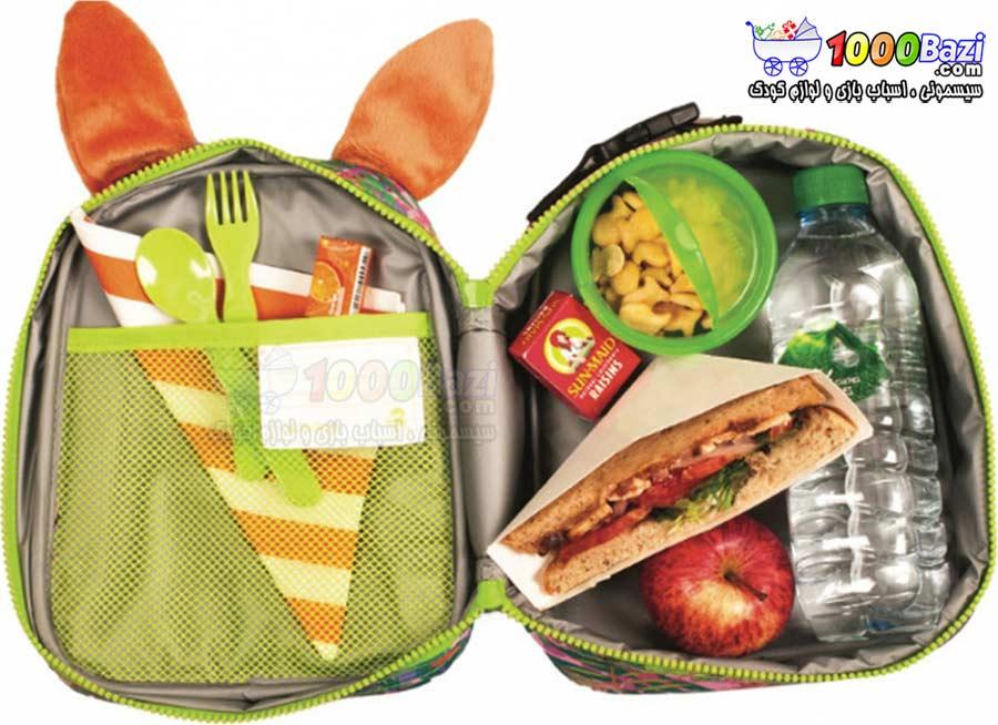 کیف غذای بچه گانه کودک طرح خرگوش Okiedog