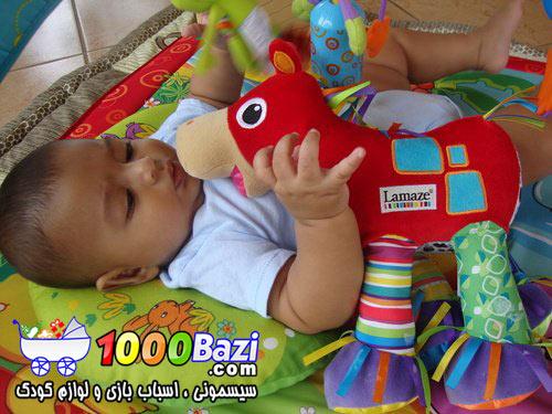 اسباب بازی لامیز مدل اسب اماز Lamaze نوزاد