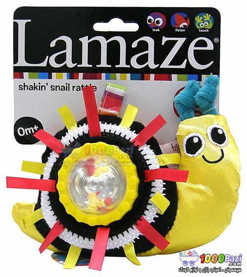 جغجغه متحرک حلزون Lamaze