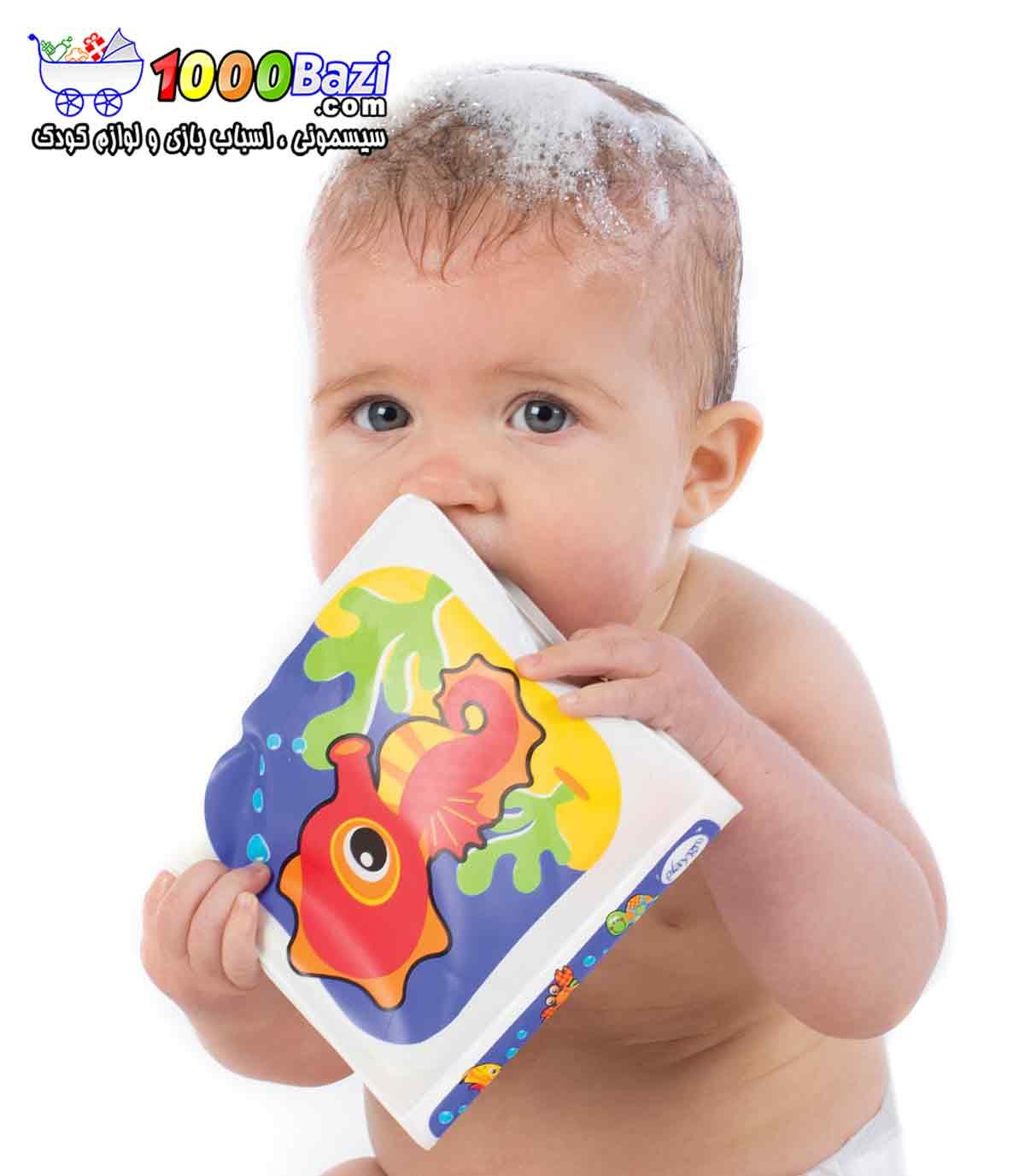 کتابچه کودک مخصوص حمام Playgro