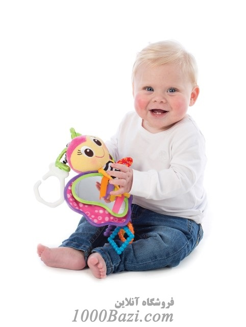 عروسک آویزی نوزاد و کودک مدل پروانه Playgro
