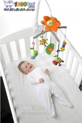 آویز موزیکال تخت نوزاد و کودک Playgro