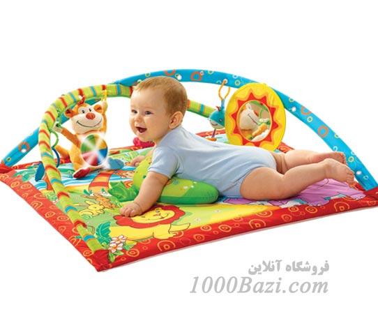 سفره عروسک، تشک نوزاد، شخصیت کارتونی، میمون شیر، تشک اسباب بازی، موزیکال، پیانو