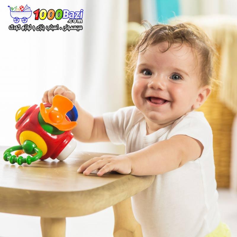 اسباب بازی نوزاد کودک توپ فانتزی تولو Tolo