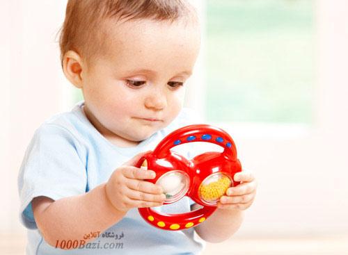 اسباب بازی جغجغه جادویی تولو Tolo