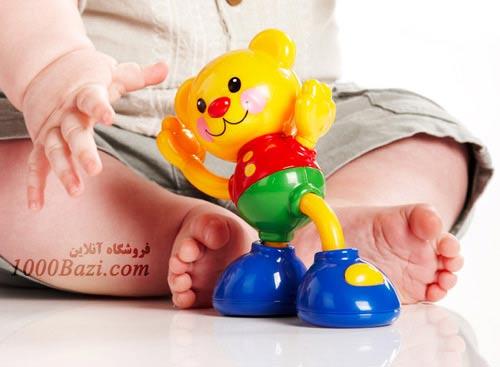 اسباب بازی خرس متصل تولو Tolo