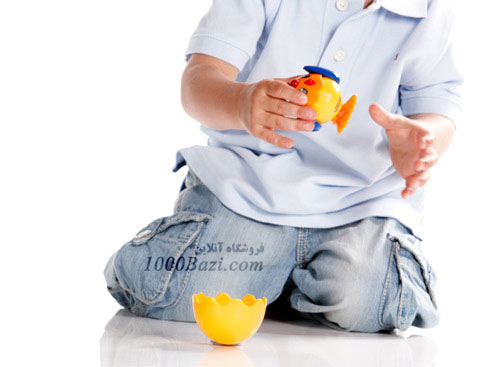 اسباب بازی کودک مرغ و تخم مرغ تولو Tolo