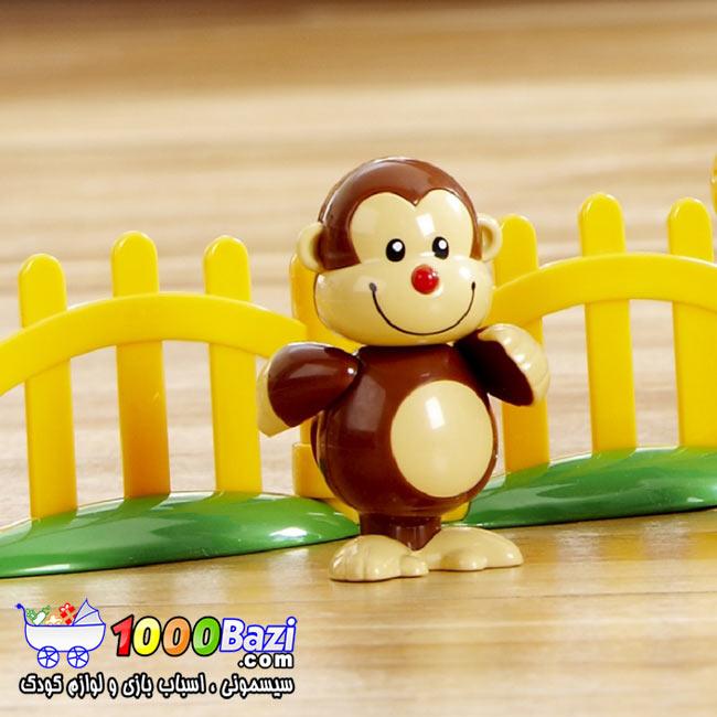 اسباب بازی نوزاد کودک میمون تولو Tolo