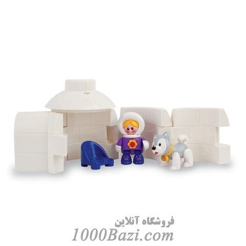 اسباب بازی خانه اسکیمو یخی  کودک تولو Tolo