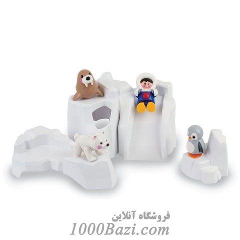 اسباب بازی کوه یخ اسکیمو قطبی کودک تولو Tolo