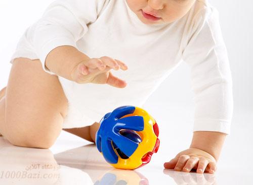 اسباب بازی توپ جغجغه ای تولو Tolo