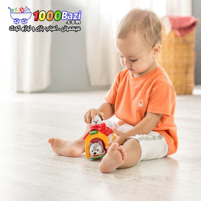 اسباب بازی نوزاد کودک پاپی جهشی تولو Tolo