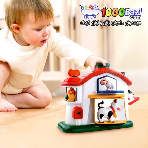 اسباب بازی نوزاد کودک خانه مزرعه تولو Tolo