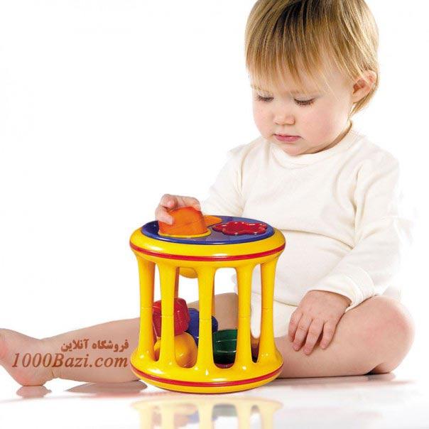 اسباب بازی تولو Tolo اسباب بازی جورچین اشکال نوزاد کودک بچه
