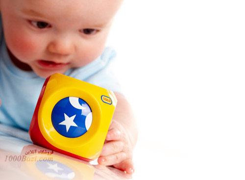 اسباب بازی توپ مکعبی تولو Tolo