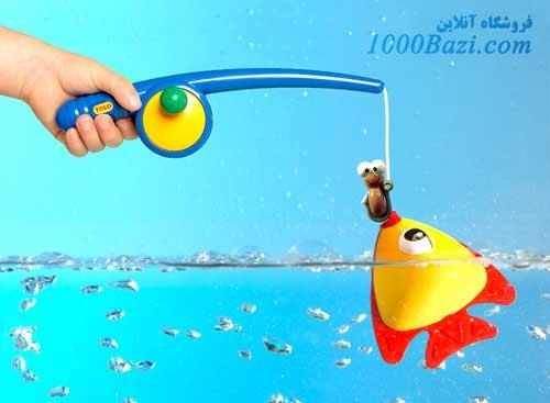 اسباب بازی کودک قلاب ماهی گیری تولو Tolo
