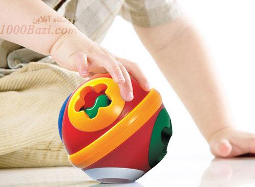 اسباب بازی تولو Tolo اسباب بازی جورچین توپی اشکال نوزاد کودک بچه