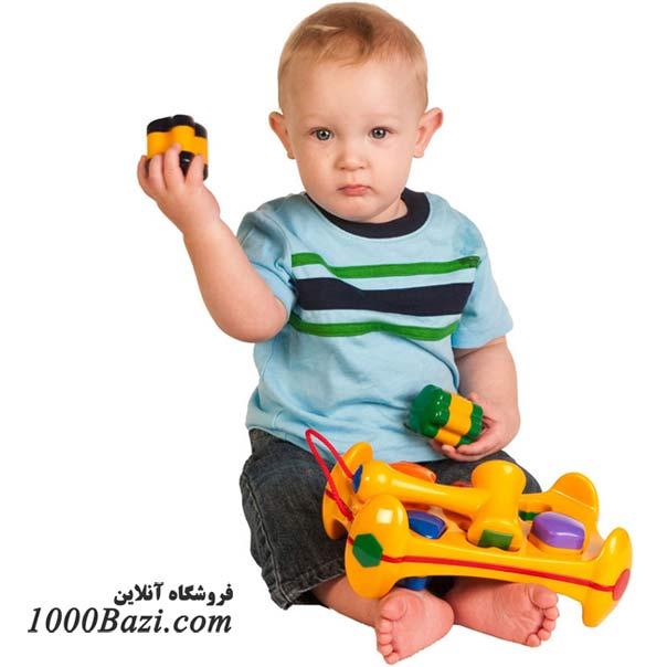 اسباب بازی تولو Tolo اسباب بازی جورچین اشکال چکشی ضربه ای نوزاد کودک بچه