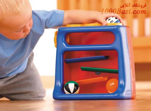 اسباب بازی کودک غلتک توپ راه تولو Tolo