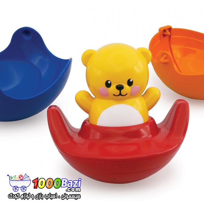 اسباب بازی نوزاد کودک تدی چرخان تولو Tolo