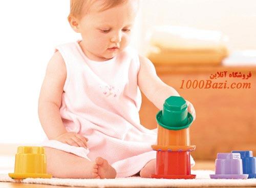 اسباب بازی پشته ساز رنگین کمان تولو Tolo
