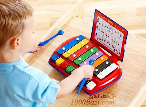 اسباب بازی کودک سنتور چوبی تولو Tolo