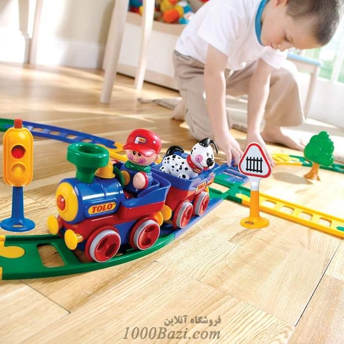 اسباب بازی کودک قطار تولو Tolo