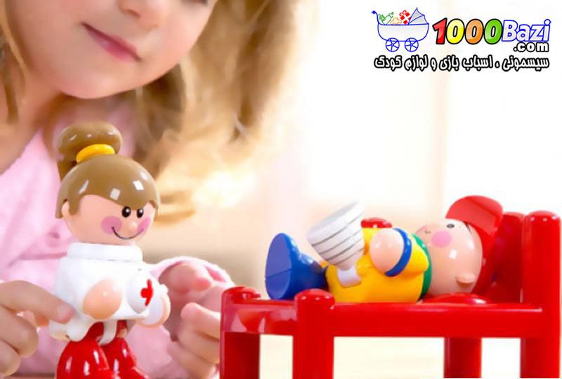 اسباب بازی کودک ست بیمارستان Tolo