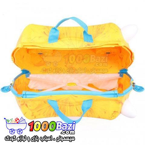 چمدان چرخدار مسافرتی طرح Rox نارنجیTrunki