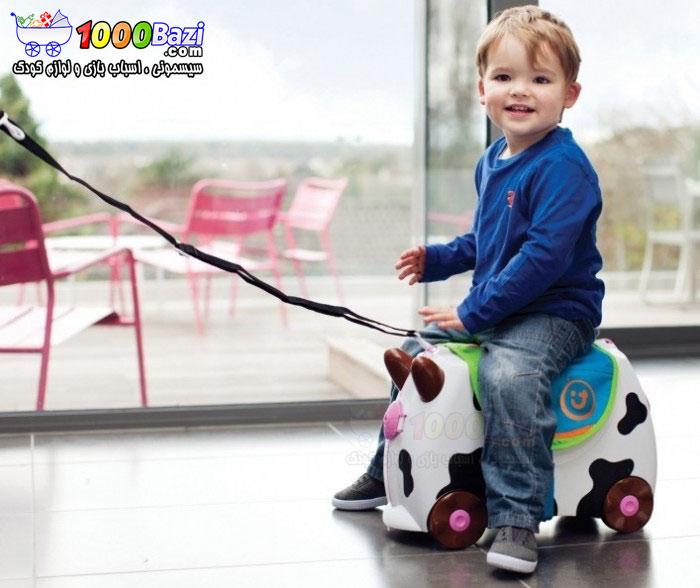 ساک چرخدار مسافرتی کودک Trunki