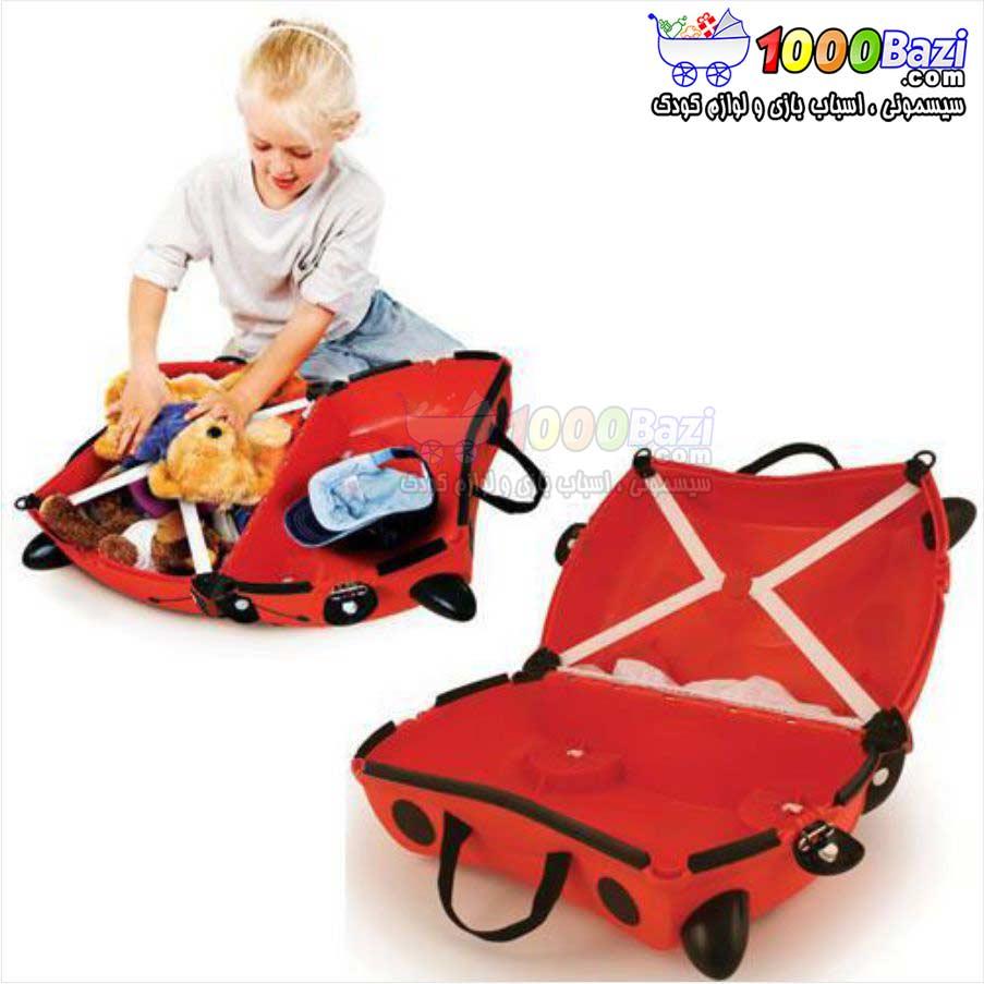 چمدان چرخدار مسافرتی کودک Trunki