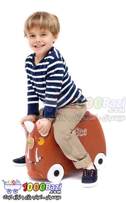 چمدان چرخدار مسافرتی طرح گروفالو Trunki