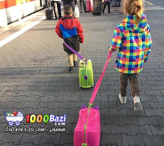 چمدان چرخدار مسافرتی Trunki